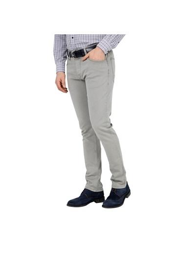 Five Pocket Jean Pantolon Gri